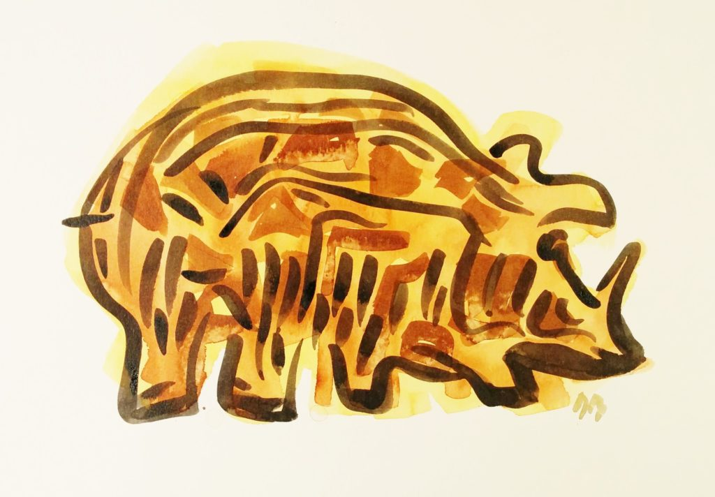Rhinophacochère- Rhinowarthog