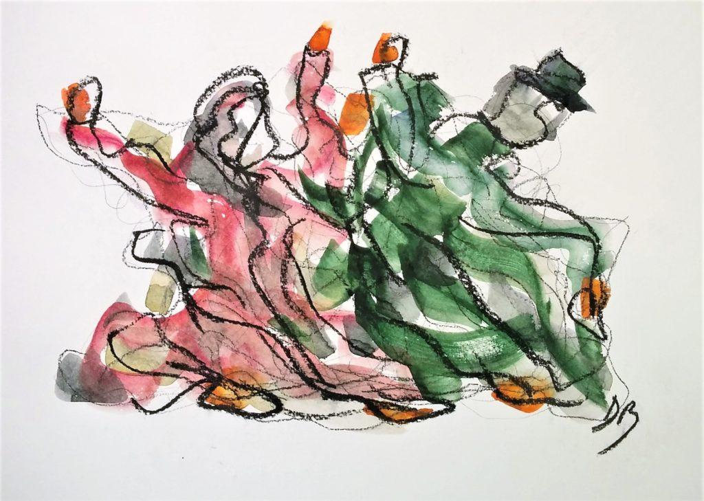 Marionettes dansantes - Dancing puppets